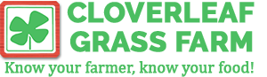 Cloverleaf Grass Farm Logo